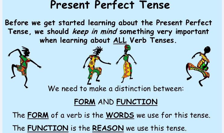 Logo present perfect tense